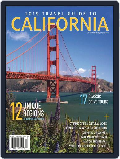 Travel Guide To California Digital Back Issue Cover