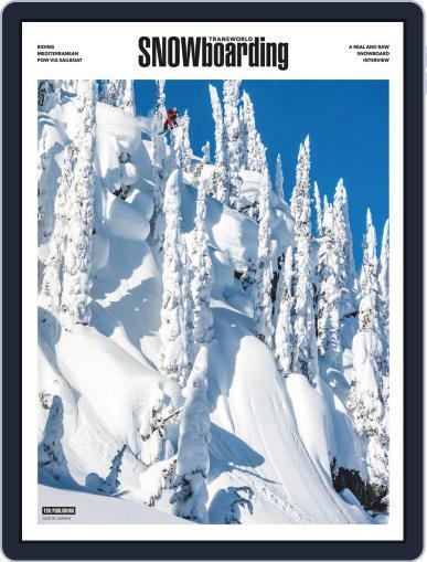 Transworld Snowboarding Digital Back Issue Cover