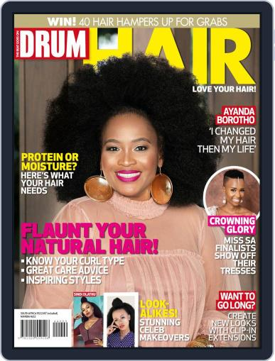 DRUM Hair Digital Back Issue Cover