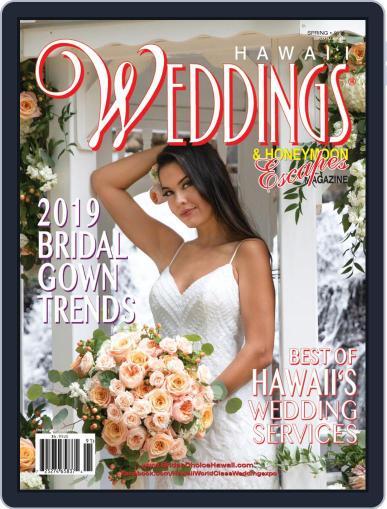 Hawaii Weddings & Honeymoon Escapes Digital Back Issue Cover