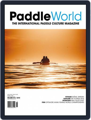 Paddle World Digital Back Issue Cover