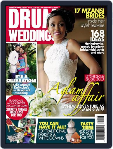 Drum Weddings Digital Back Issue Cover