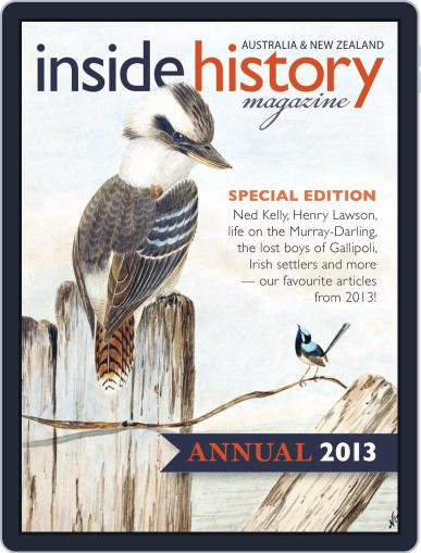 Inside History - Annual Digital Back Issue Cover