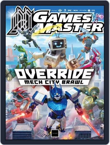 Gamesmaster Digital Back Issue Cover