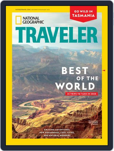 National Geographic Traveler Digital Back Issue Cover