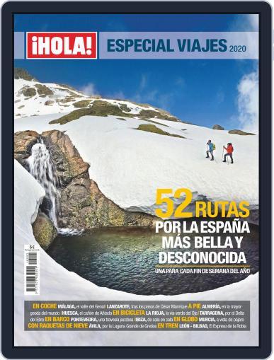¡hola! Especial Viajes Digital Back Issue Cover