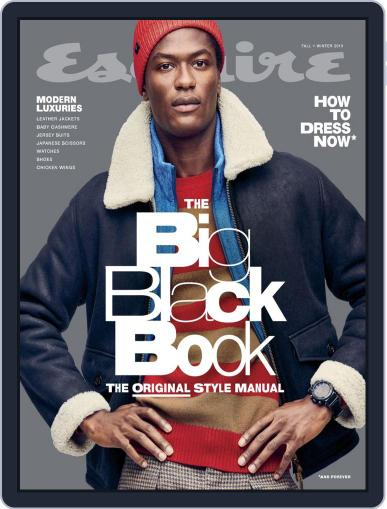 Esquire's Big Black Book Digital Back Issue Cover