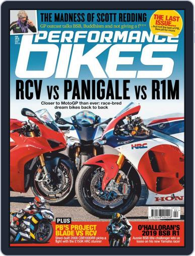 Performance Bikes Digital Back Issue Cover