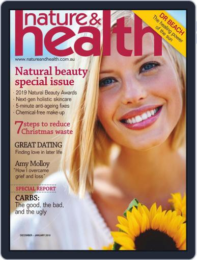 Nature & Health Digital Back Issue Cover