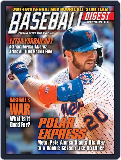 Baseball Digest Digital Back Issue Cover