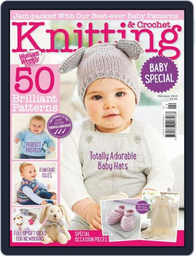 Knitting & Crochet from Woman's Weekly Digital Back Issue Cover