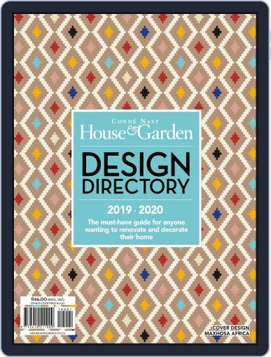 Condé Nast House & Garden Design Directory Digital Back Issue Cover