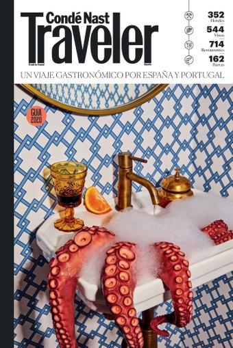 Condé Nast Traveler. GUIA GASTRONOMICA Digital Back Issue Cover
