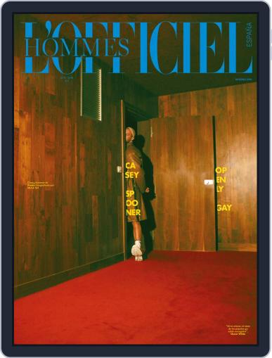 L'Officiel Hommes España Digital Back Issue Cover