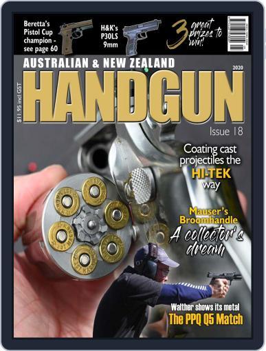 Australian & New Zealand Handgun Digital Back Issue Cover