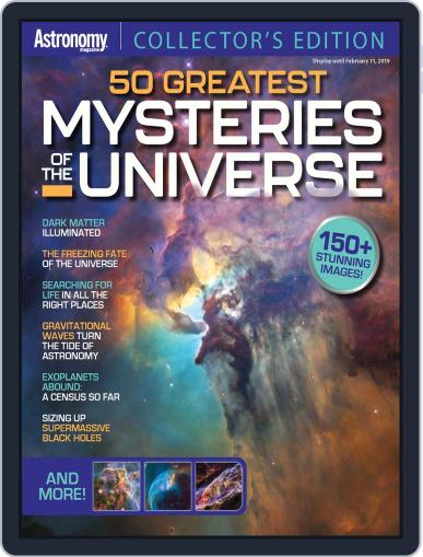 50 Greatest Mysteries In The Universe Digital Back Issue Cover