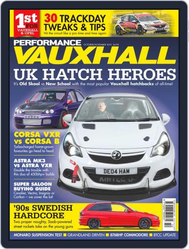 Performance Vauxhall Digital Back Issue Cover