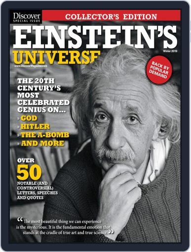 Einstein's Universe Digital Back Issue Cover