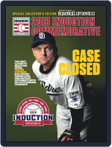 Baseball America: Hall of Fame May 4th, 2018 Digital Back Issue Cover