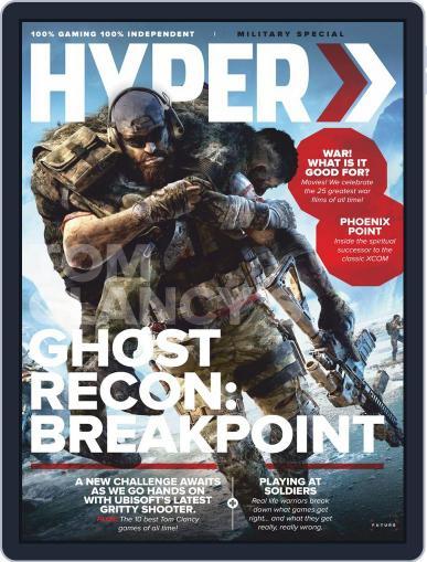 Hyper Digital Back Issue Cover