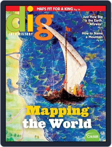 Dig History And Archaeology Magazine For Kids And Children Digital Back Issue Cover