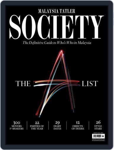 Malaysia Tatler Society Digital Back Issue Cover