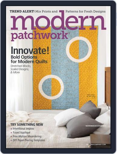 Modern Patchwork Digital Back Issue Cover
