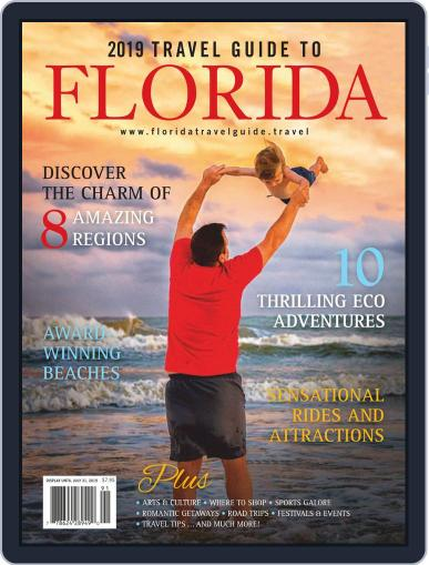 Travel Guide to Florida Digital Back Issue Cover