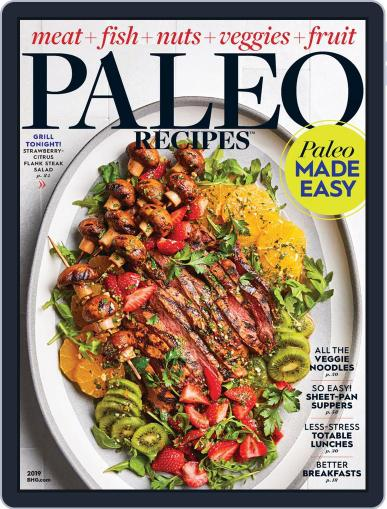 Paleo Recipes Digital Back Issue Cover