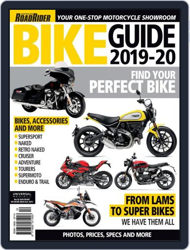 Road Rider Bike Guide Digital Back Issue Cover