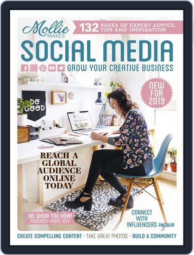 Mollie Makes Social Media Digital Back Issue Cover
