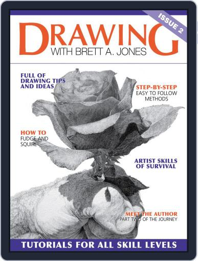 Drawing with Brett A Jones October 11th, 2015 Digital Back Issue Cover
