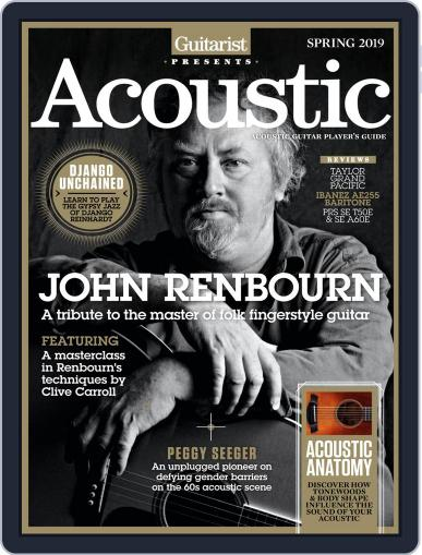 Guitarist Presents Acoustic: Spring Digital Back Issue Cover