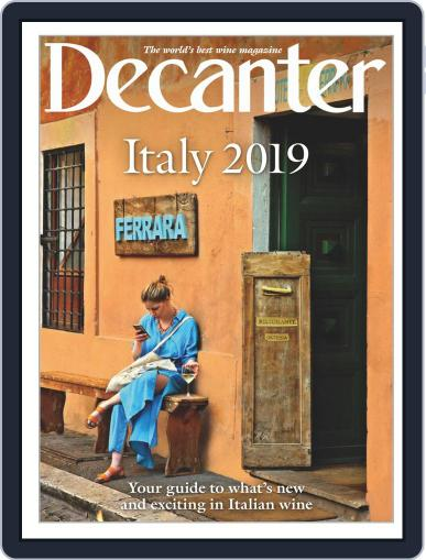 Decanter Italy Digital Back Issue Cover