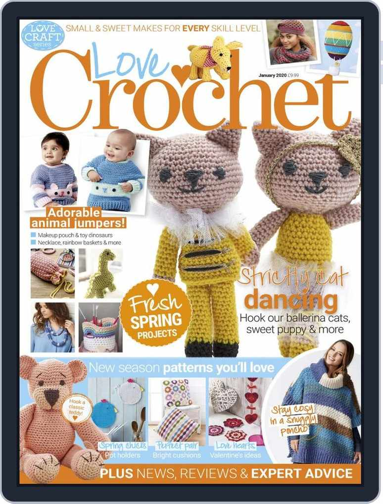 Little Red and Baby Wolf in Simply Crochet special booklet ...   1018x774