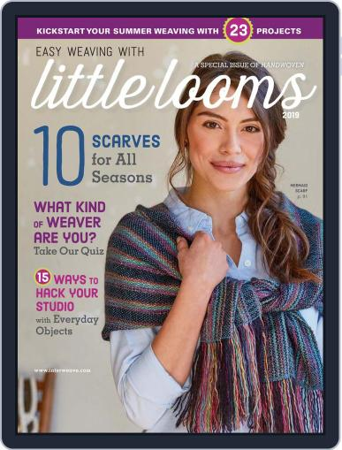 Easy Weaving with Little Looms Digital Back Issue Cover
