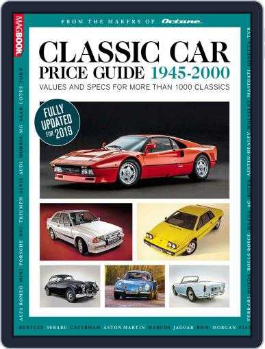 Classic Car Price Guide Digital Back Issue Cover