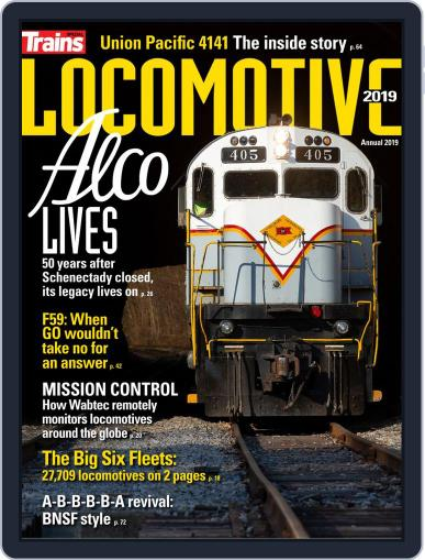 Locomotive Digital Back Issue Cover