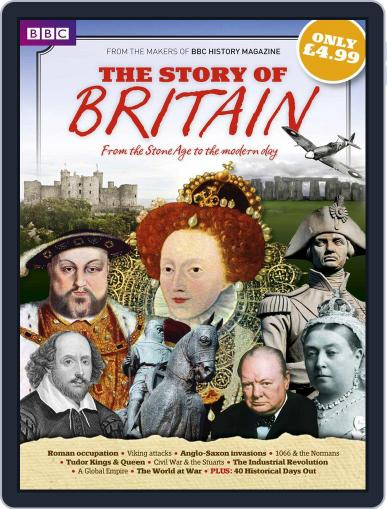 BBC History Magazine presents The Story of Britain Digital Back Issue Cover