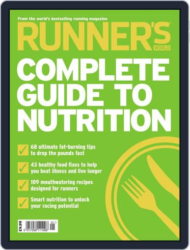 Runner's World Complete Guide to Nutrition Digital Back Issue Cover