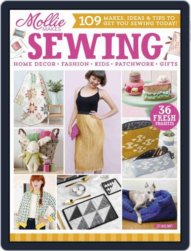 Mollie Makes Sewing Digital Back Issue Cover