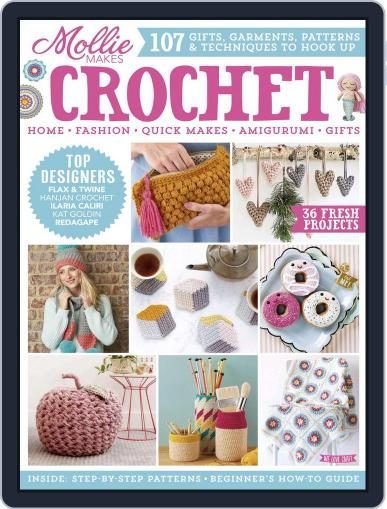 Mollie Makes Crochet Digital Back Issue Cover