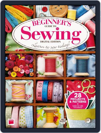 Beginner's Guide to Sewing Digital Back Issue Cover