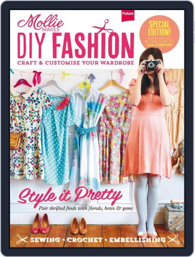 Mollie Makes DIY Fashion Digital Back Issue Cover