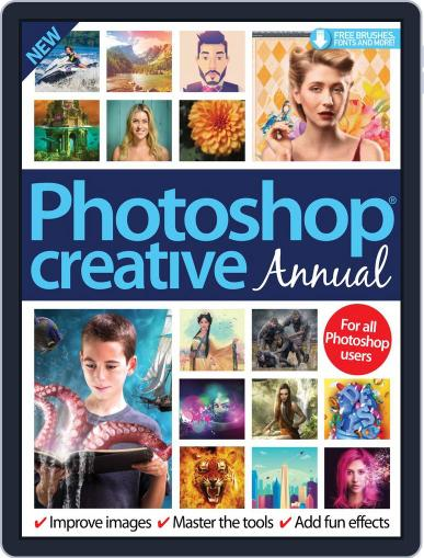 Photoshop Creative Annual Digital Back Issue Cover