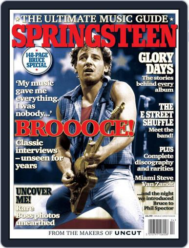 Uncut Ultimate Music Guide: Springsteen Digital Back Issue Cover