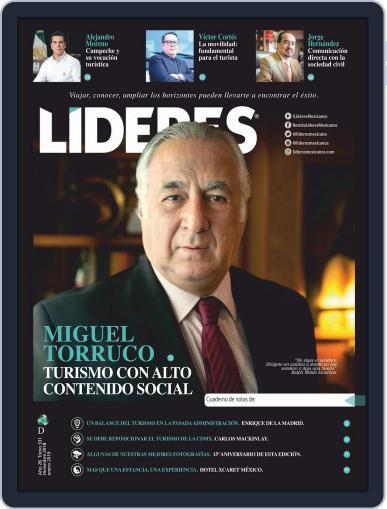 Líderes Mexicanos - Special Editions Digital Back Issue Cover