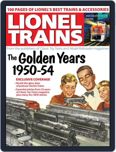 Lionel Trains: 1950-54 August 2nd, 2012 Digital Back Issue Cover