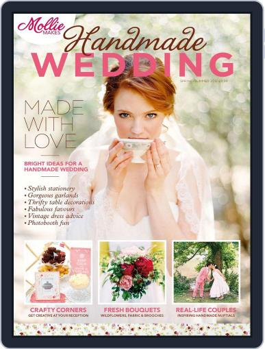 Mollie Makes Handmade Wedding Digital Back Issue Cover