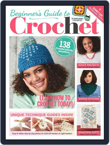 Beginners´ Guide to Crochet Digital Back Issue Cover